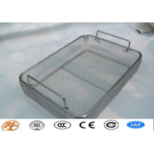 stainless steel sterilizing wire mesh basket